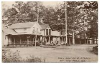 Cozy Row on E Street Mountain Lake Park Md 1910 Antique Postcard Maryland