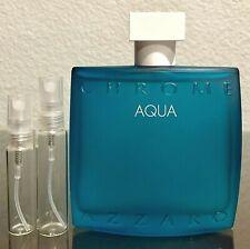 Azzaro Chrome Aqua 5ml 10ml Glass Decant Samples