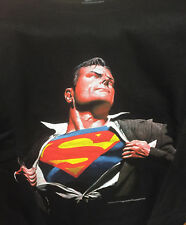 Superman Forever Alex Ross T-Shirt size XL Extra Large Black New