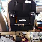 Auto Car Seat Back Storage Organizer Holder Multi-Use Bag Pocket Accessory Black