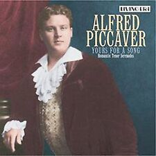 Alfred Piccaver Yours Song Romantic Tenor Serenades CD