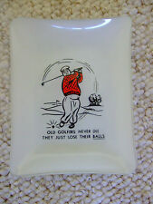 Novelty Golfers Ashtray - Circa 1950s