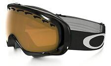 Oakley Crowbar Goggles (Jet Black/Persimmon / Unisex Adult Size)