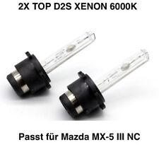2x Neu D2S 6000K 35w Xenon Tüv Frei Mazda MX-5 III NC