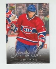 (59613) 2011-12 UPPER DECK SERIES 2 CANVAS YOUNG GUNS LOUIS LEBLANC #C223