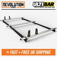 L2H1 Rhino Delta 3 Bar Van Roof Rack Roof Bars System Toyota ProAce 13-16