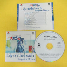 CD TANGERINE DREAM Lily On The Beach 1997 Ita GRUPPO FUTURA no lp dvd (XS4)