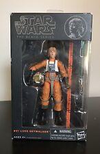 Star Wars Black Series Luke Skywalker 6? #01- Orange line