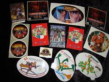 13x Sticker nintendo n64 SNES nes Super Mario Konami CASTLEVANIA Star Wars 90er