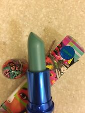 Mac  * CLOUD GAIT * Chris Chang~LUSTRE Turquoise Blue/Seafoam Green Lipstick NIB