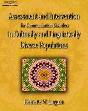 Assessment & Intervention for Communication Disorders in Culturally & Linguistic