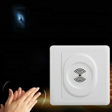 Wall Mount Smart Voice Control Light Sensor Switch Sound & Light Controlled