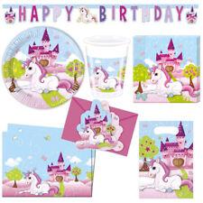 Einhorn 20 Servietten Unicorn Papierservietten Dekoration Kindergeburtstag NEU