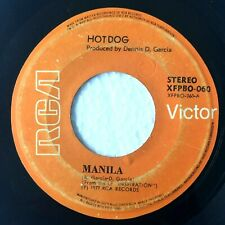 "HOTDOG Manila b/w Ako'y Hindi Anghel PHILIPPINES OPM 7"" 45 RPM"