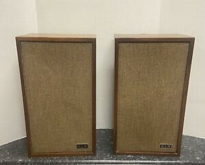 KLH Model Twenty Four (24) Speakers - EXCELLENT CONDITION, TESTED