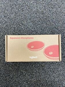NEW Logitech Group Conference Expansion Microphones 989-000171
