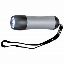 Small Bright 9 Bulb LED FLASHLIGHT Emergency Weather Survival Torch Lamp Light