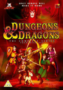 Dungeons And Dragons: The Complete Series Dvd Brand New & Factory Sealed (1983)