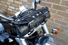MOTORCYCLE LEATHER TOOL ROLL SADDLE BAG TRIUMPH ROCKET BONNEVILLE THUNDERBIRD