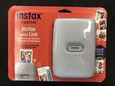 Fujifilm Instax Mini Link Smartphone Printer Ash White & Instax Film