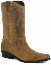 Wrangler 100% Leather Cowboy, Western Boots for Women