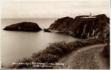 Lundy. Lametry & Rat Island, South Lighthouse # 9850 by Sweetman.