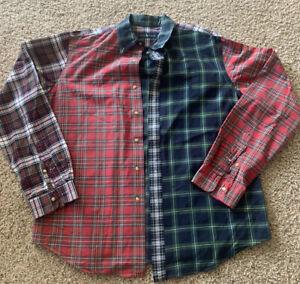 Ralph Lauren Multi Color Plaid Patterns Mens Dress Shirt Size XL New, No Tags