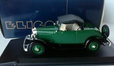 ELIGOR 1:43 AUTO DIE CAST FORD V8 1932 ROADSTER CAPOTE VERDE ART 1201