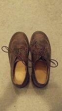 EUC Vintage DR MARTENS Brown Brogue Wingtip Shoes Women's Size 4 3989/59 England