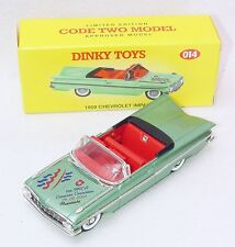 Matchbox Dinky Toys 1:43 CHEVROLET IMPALA 1959 OPEN TOP Model Car Code-2 014 MIB