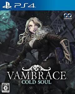 Play station 4 Van Brace VamBrace Cold Soul PS4 New Japan
