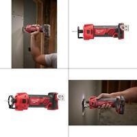 Milwaukee Drywall Cut Out Tool Cordless M18 18Volt Lithium-Ion Power Cutter Only
