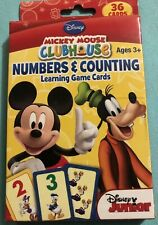 Disney Mickey Mouse Disney Junior Flash Cards Numbers & Counting Boys & Girls