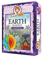 PROFESSOR NOGGIN'S EARTH SCIENCE FUN EDUCATIONAL FAMILY TRIVIA CARD GAME OUTSET