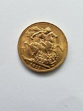 1911 Great Britain Gold Sovereign (.2354 oz) - George V  AU/XF