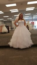 Rebecca Ingram by Maggie Sottero Chelsea Wedding Gown Bridal Dress sz 20