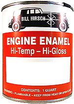 Bill Hirsch Motor Pintura de Esmalte Alta Temperatura Temp Temperatura Calor Buick rojo