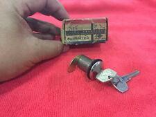 DATSUN 620  Pickup Truck Gas Door Lock  Key Nos genuine japan   (((RARE)))