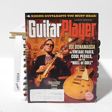 GUITAR PLAYER MAGAZINE Joe Bonamassa Vintage Les Paul Cool Pedals September 2012