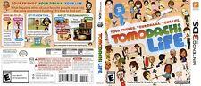 Tomodachi Life Nintendo 3DS Reproduction Spare Cover Art Work (No Game, No Box)