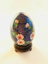 """Cloisonne Egg and Stand 3"""""""