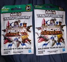 Lot of 2 KRE-O Transformers Micro Changers A2200 - New & Sealed - Series 3