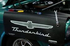 Black Ford Thunderbird car mechanics fender cover paint protector vintage style