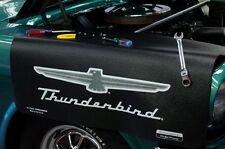 Black Ford Thunderbird car mechanics fender cover paint protector vintage style