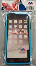 iPhone 6+ (Plus) Blue/Black Protective Bumber Case #10C