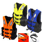 Adult Life Jacket Vest Kayaking Canoeing Rafting Skiing Swimming Foam Lifevest