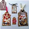 Stanzschablone Etikett Anhänger Hochzeit Weihnachts Oster Geburtstag Karte DIY