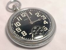 WW2 American Waltham Premier 16s Pocket Watch (H3)