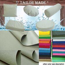 PL15 TAILOR MADE Lt-Gray Outdoor Waterproof Sun Umberlla Patio sofa seat cover