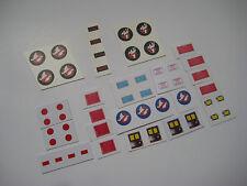 Kenner Ghostbusters Figures Custom Water Slides & Stickers  [4 Sets] B2GF
